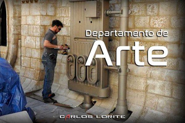 departamento de arte por carlos lorite