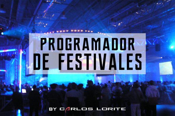 Programador de festivales by carlos lorite