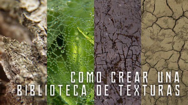Como crear una biblioteca de texturas - titulo - Carlos Lorite