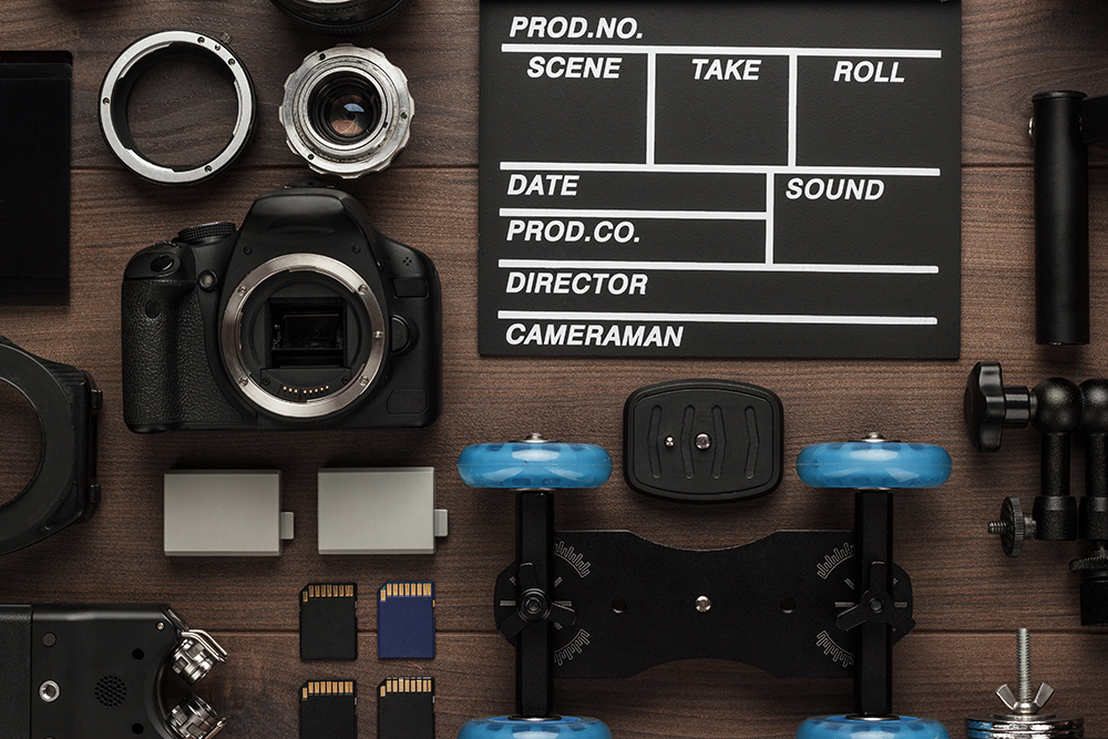 Alquiler de material audiovisual