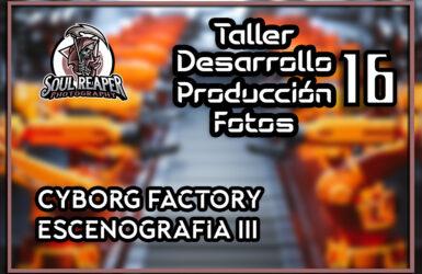 Cybrog Factory escenografía