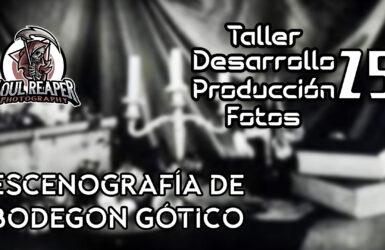 Escenografía de Bodegon Gótico