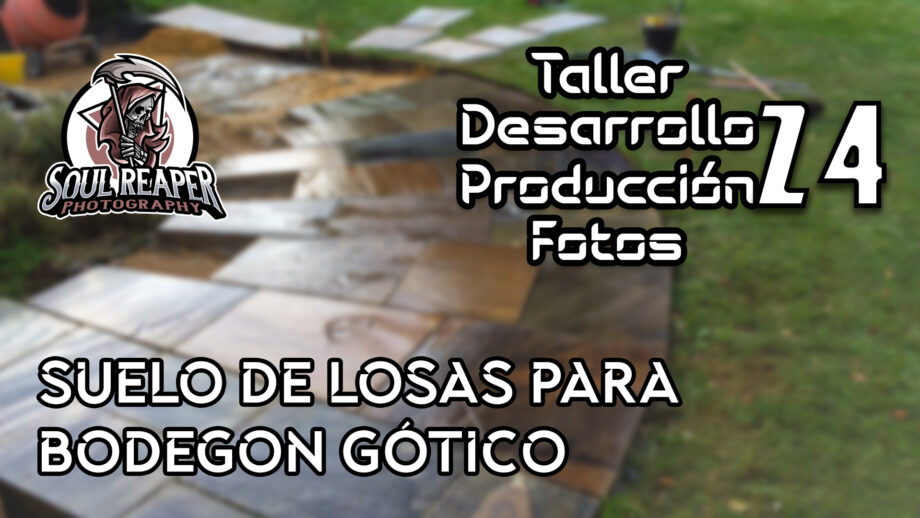 Suelo de losas para Bodegon Gótico   Soul Reaper Photography   TALLER   cap. 1x24